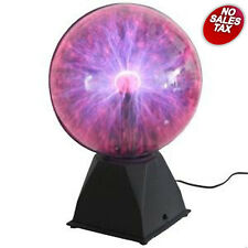 Plasma Ball Lamp 12-Inch Lighting Party Crystal Touch Sensitive Disco Globe Home