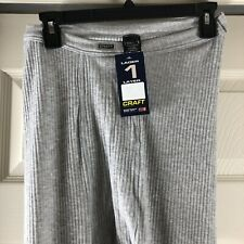 Craft NEW Men's XL Thermal Base Layer Layer 1 Next to Body GREY Sz XL NWT