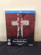 There Will Be Blood Blu-ray SteelBook   UK exclusive   Region B   New Sealed