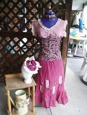 WOMEN'S STEAMPUNK COSTUME, HAND MADE, SM, 1 OF A KIND