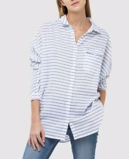 Lee para Mujer Camisa Blusa alargada RRP £ 60 (0011)