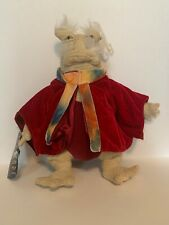 """Rare! 2006 Farscape Dominar Rygel Xvi 12"""" Plush Doll w/ tags Toy Vault Sold Out"""