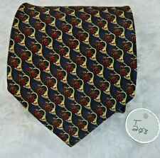 Holiday Traditions by Hallmark MMG Christmas horns Silk Necktie