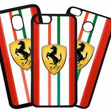 Carcasa De Movil Case Funda Movil De TPU Logo Imagen Marca Coches Motor Ferrari