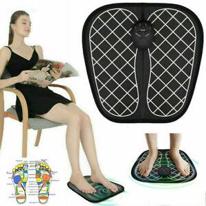 Foot Massager Mat Electric Feet Massage Pad Blood Muscle Circulation Relief H.ji