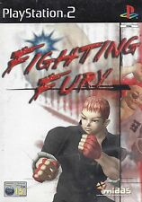 FIGHTING FURY for Playstation 2 PS2 - with box & manual - PAL