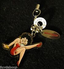 """Betty Boop Phone Charm or Key Chain With a """"Betty Boop"""" Name Charm"""