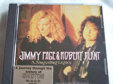 JIMMY PAGE &ROBERT PLANT A SONGWRITING LEGACY CD 10 TRACKS LED ZEPPELIN PROMONEW