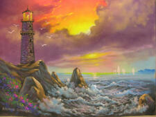"Chalk Art DVD ""FINE ARTS LIGHTHOUSE""  by Ray Dombeck"