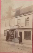 BRAINTREE 'THE ANGEL' PUBLIC HOUSE SHOP FRONT RP REAL PHOTO POSTCARD EARLY VIEW