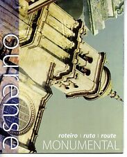 Guide and Map Ourense Spain