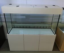"""Tropical Aquarium with HIGH GLOSS ACRYLIC Cabinet 60""""x30""""x24"""" Any Size Available"""