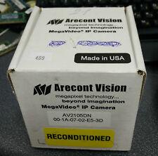 Arecont Vision AV2105DN - IP HD NV MegaVideo PoE Video Surveillance Camera 2MP