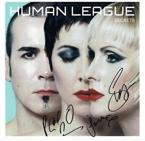 Human League Phil OAKEY Joanne Susan SIGNED Autograph 12x12 Photo A AFTAL RD COA