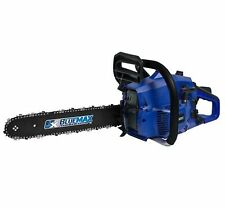 Blue Max 16 in. 38cc High Performance Gas Hand Chainsaw Outdoor Power Equipment