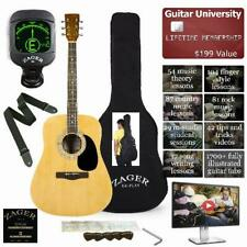 Easy Play No Sore Fingers Acoustic Guitar Player Package Custom Neck Design