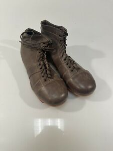 Vintage Leather Cleats Adult Size 9