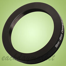 58mm to 46mm 58-46mm 58mm-46mm 58-46 Stepping Step Down Filter Ring Adapter