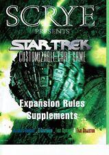 STAR TREK CCG SCYRE, RULES SUPPLEMENT