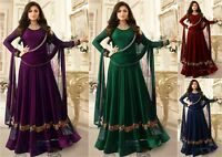 Indian Pakistani Anarkali suit Bollywood Designer Shalwar Salwar Kameez Dress FM