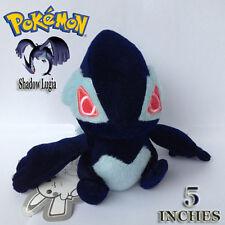 "Shadow Dark Lugia Pokemon XD Corrupted Plush Soft Toy Stuffed Animal Figure 5"""