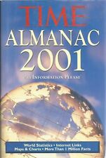 ALMANAC TIME 2001, 1039 PAGES. PRISTINE UNREAD CONDITION, ONLY $4.89