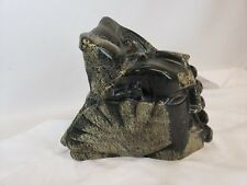 """Incredible Latin American Pre-colombian style Stone Sculpture, marked, 9"""""""