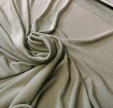 4 metre length sage slinky stretch cling fabric