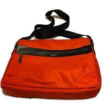 NWOT Michael Kors Men's KENT Nylon Large Red Crossbody Messenger Bag