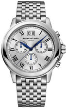 RAYMOND WEIL Tradition Chronograph Silver Dial Stainless Steel Men 4476ST00650