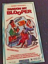 Pardon My Blooper VHS