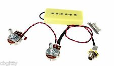 Soapbar P-90 Pre-wired Single Coil Guitar Pickup Harness with Volume & Tone Pots