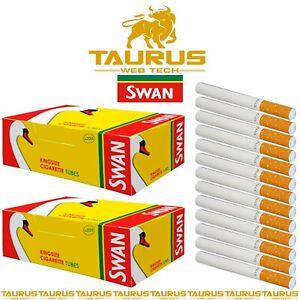 4000x SWAN Filter Classic TUBES Tips KS Paper RIZLA Smoking Cigarette Tobacco UK