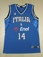 Shirt Maillot Tank Top Basketball Sport Italy N°14 Size Xxl