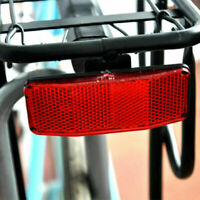 Fahrrad hinten Kotflügel Reflektor Rückleuchte Rücklicht Rückstrahler O9Q1 S9B9