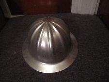 Vintage Aluminum Safety Hard Hat Helmet Superlite Co
