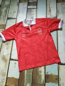 Nottingham Forest Home Football Shirt 1988/1990 Umbro Original Vintage