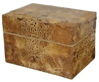 Silvestri Faux Leather Animal Skin Jewelry Trinket Note Box Philippines 6""