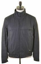 HUGO BOSS Mens Bomber Jacket Size 36 Small Grey Polyester  MR11