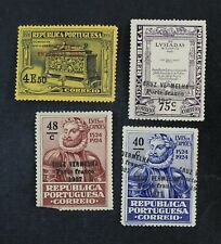 CKStamps: Worldwide Stamps Portugal Scott#1S6/1S10 Mint NH/H OG Ovpt Variety