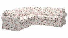 IKEA VIDESLUND MULTI floral slip cover set designed to fit the EKTORP 2+2 corn