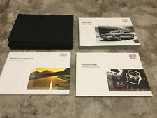 2008 Audi S8 Quattro Sedan Owners Manual With Case And Navigation Oem Free Ship