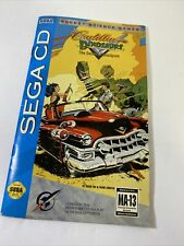 Cadillacs and Dinosaurs: The Second Cataclysm Sega CD MANUAL ONLY warranty Card