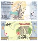 Madagascar 200 Ariary 2017 P-New New Design Banknotes UNC
