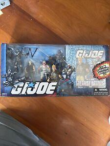G.I. JOE GREATEST BATTLES DVD Pack with Duke Snake Eyes Storm Shadow Cobra