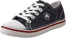 Crocs Kid's Hover Canvas Lace-Up Sneaker (Little Kid)~Navy/Red/White~ Size 1 M