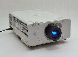 Panasonic PT-DZ570U DZ570 HD WUXGA 4000 Lm 1080p HDMI RGB 3LCD Projector 1056hr