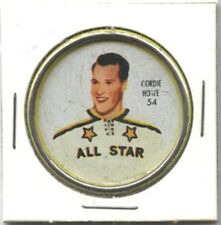 1962-3 SHIRRIFF HOCKEY COIN #54 GORDIE HOWE VG