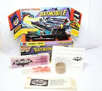 Corgi 267 Batmans Batmobile In Its Original Box - Near Mint Model Rare