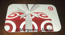 TARGET GIFT CARD 2013 PRESENT WITH BIG WHITE BOW COLLECTIBLE NO VALUE